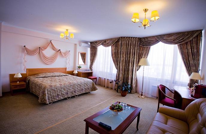 Комфортный номер студия в гостинице Аструс